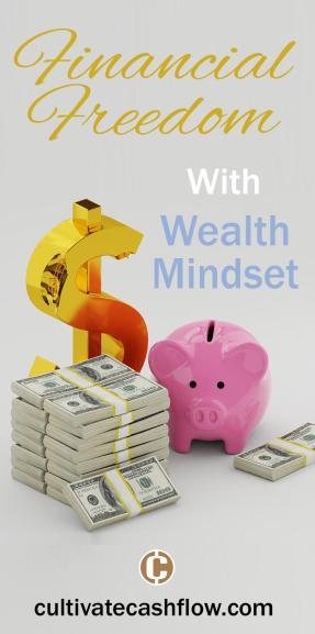 financial freedom wealth mindset cash flow blog