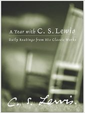 "Book cover of ""A Year with C.S. Lewis"" by C.S. Lewis"