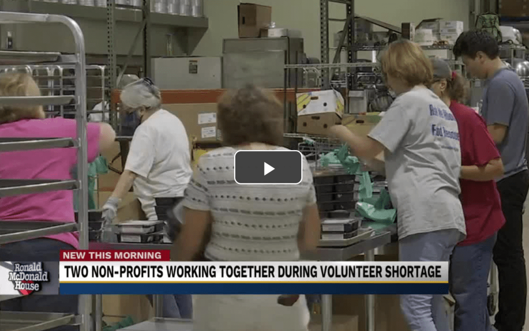 RMHC and Cultivate work together to provide for families in need