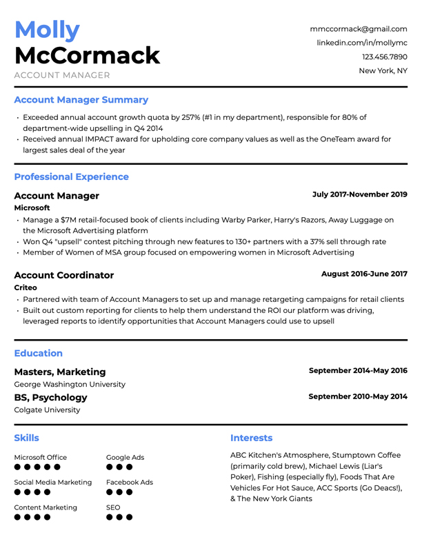 Resumes are unique to everyone based on your experience, industry, and the job you're applying for. Free Resume Templates For 2021 Edit Download Resybuild Io