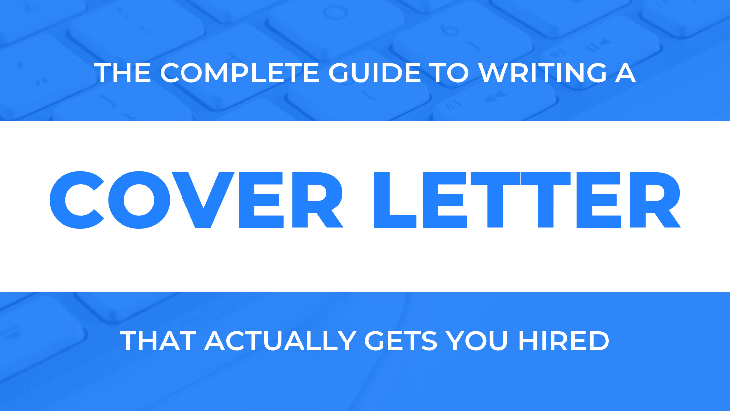 Activity Manager Cover Letter How To Write An Amazing Cover Letter That Will Get You Hired
