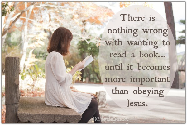 Nothing wrong with wanting to read