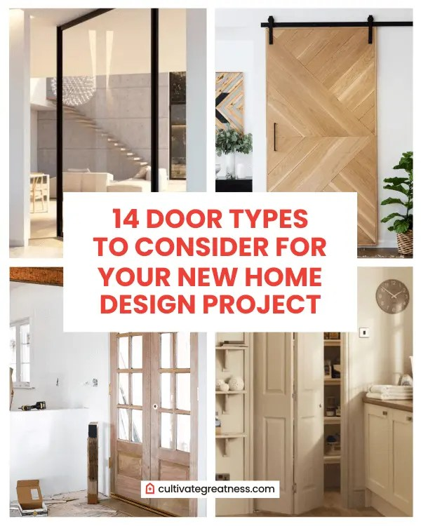 14 Door Types To Consider For Your New Home Design Project