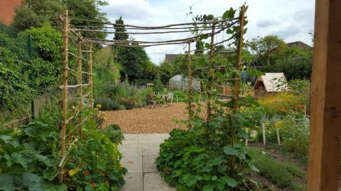 Salopian-Kitchen-Garden-Through-the-Arch