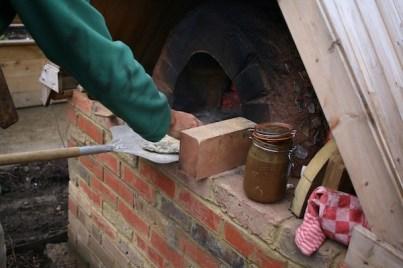 Salopian Garden Weekend Open Days Pizza Oven
