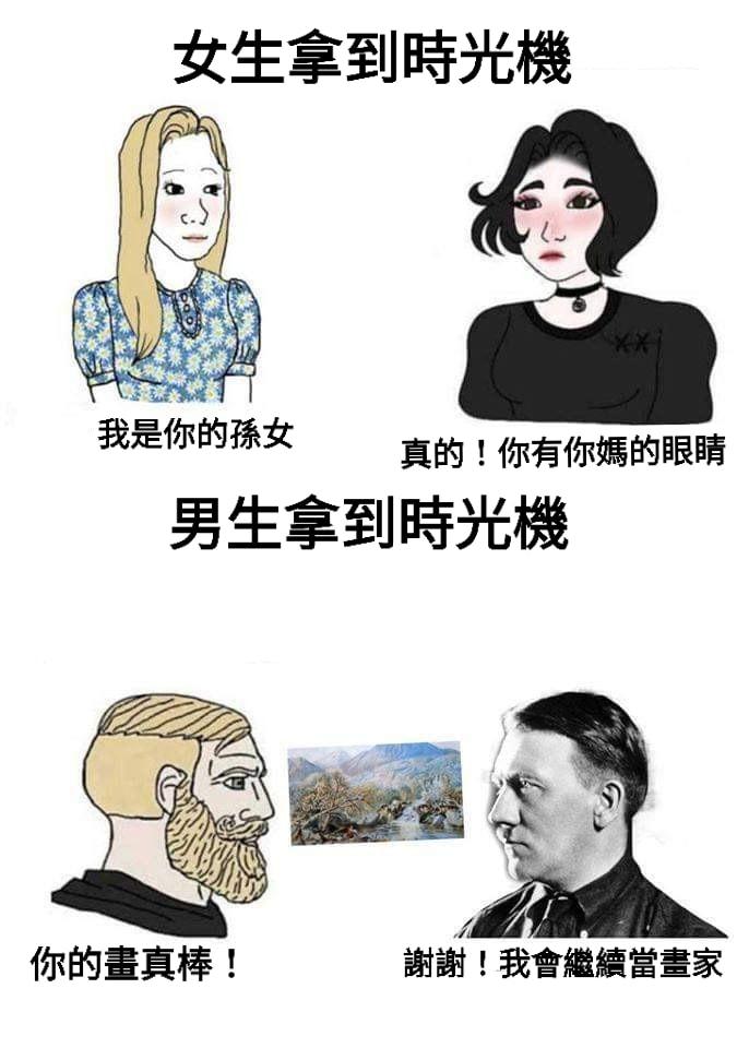 窩der週記 Vol.23 - 男生拿到時光機&李奧納多喝酒 - 培養meme