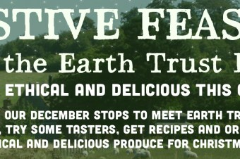 Festive Feasts from the Earth Trust Farm