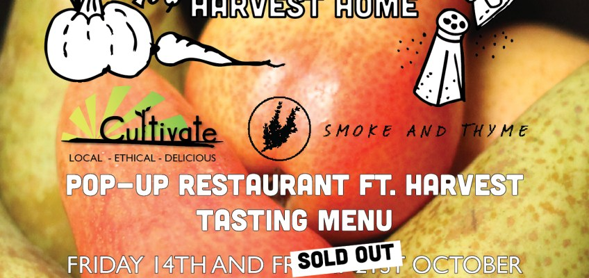 Harvest Tasting Menu from Smoke and Thyme
