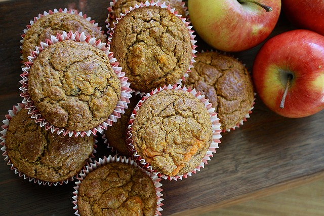 A-Z muffins – a state-side taken on using up courgettes and apples