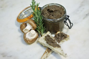Mushroom, Chestnut & Caramelised Onion Pâté