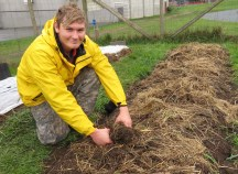 Mike Ferncase, 2017 School Farm production apprentices