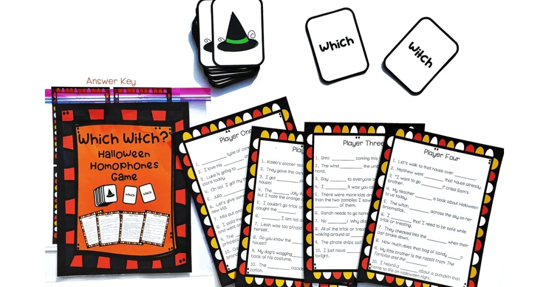 Halloween Homophones Game for Third Grade and Fourth Grade Reading.png