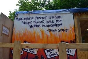 Gramsci Monument quote