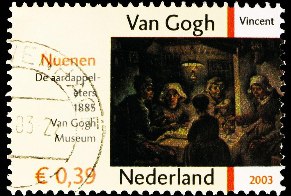 Bookmark By Van Gogh on Display in Amsterdam
