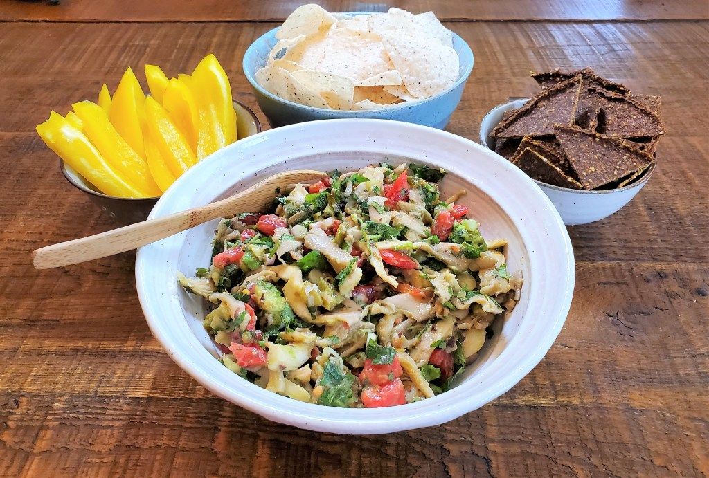 Oyster Mushroom Ceviche! Low Fat & Raw Vegan | Cultivator Kitchen