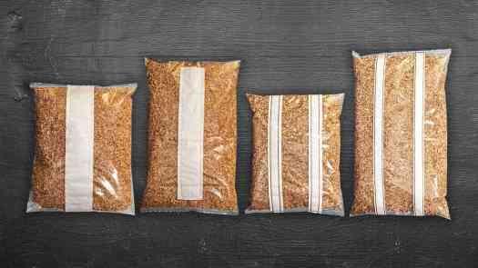 sacs autoclavables pour la culture de champignons avec filtre en glissière