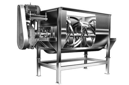 Un mélangeur à ruban est trés utile pour rendre le substrat homogène