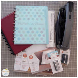 Best Daily Planner - Arc Notebook and Holepunch