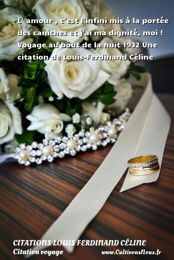 L'amour C'est L'infini Mis à La Portée Des Caniches : l'amour, c'est, l'infini, portée, caniches, Citation, Voyage, Citations, Voyages, Cultivonsnous.fr