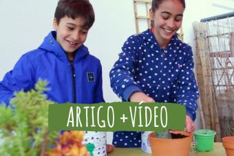 Jardinagem com crianças – 3 projetos fáceis e divertidos