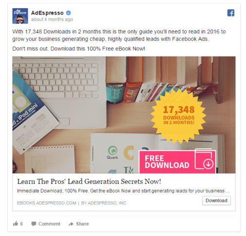 Increase Facebook Ad CTR