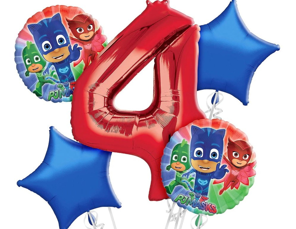 PJ Masks 4th Birthday - in honour of my son who loves them