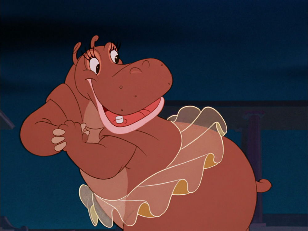 Hyacinth Hippo from Fantasia