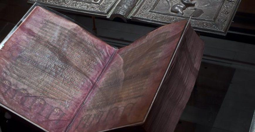 Codex Argenteus from Uppsala University Library