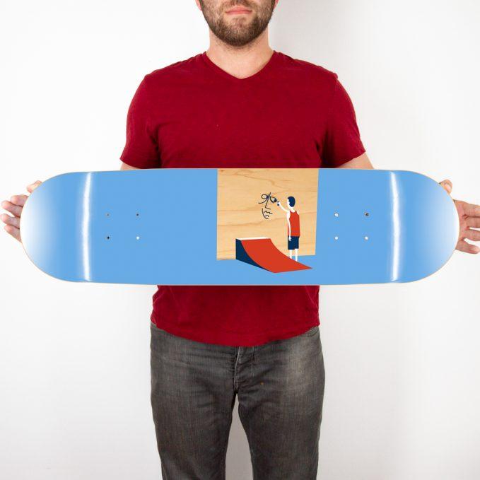 Jim Houser skate deck
