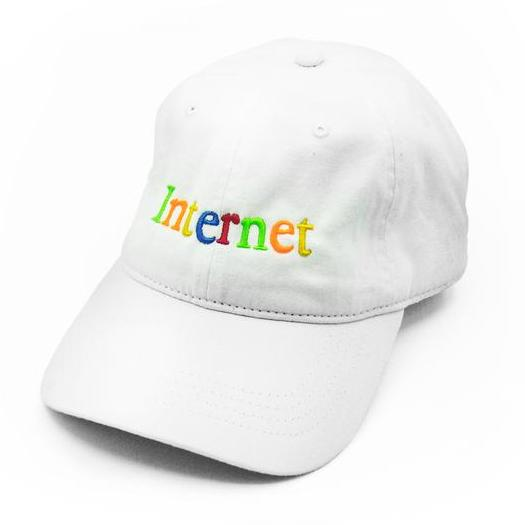 Internet Dad hat by Super Team Deluxe. The internet is not a fad – it's here to stay!