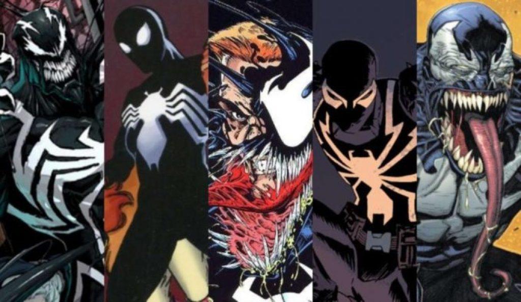 Different versions of Venom