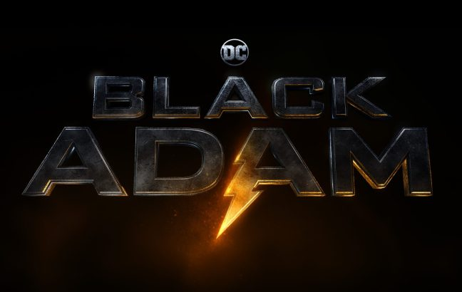 black adam film poster