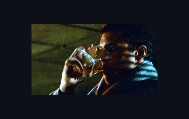 Rick Deckard's whiskey glass