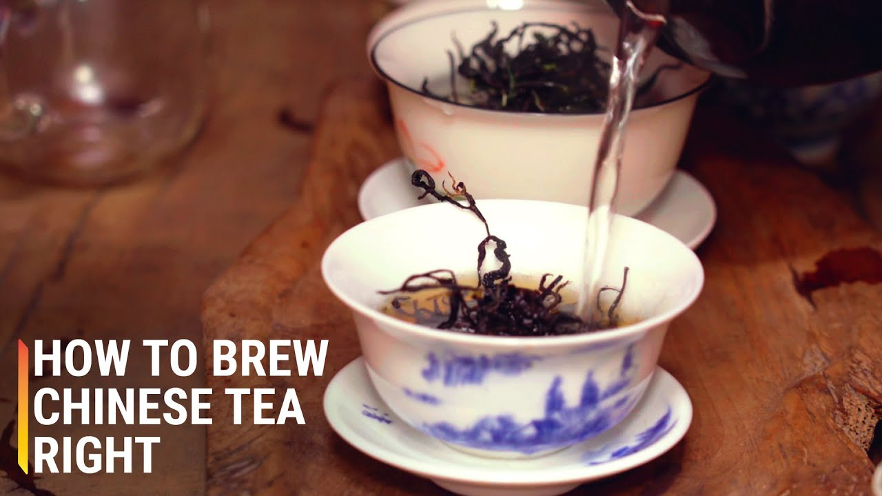 How to brew Chinese tea right