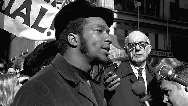Fred Hampton addressing the public