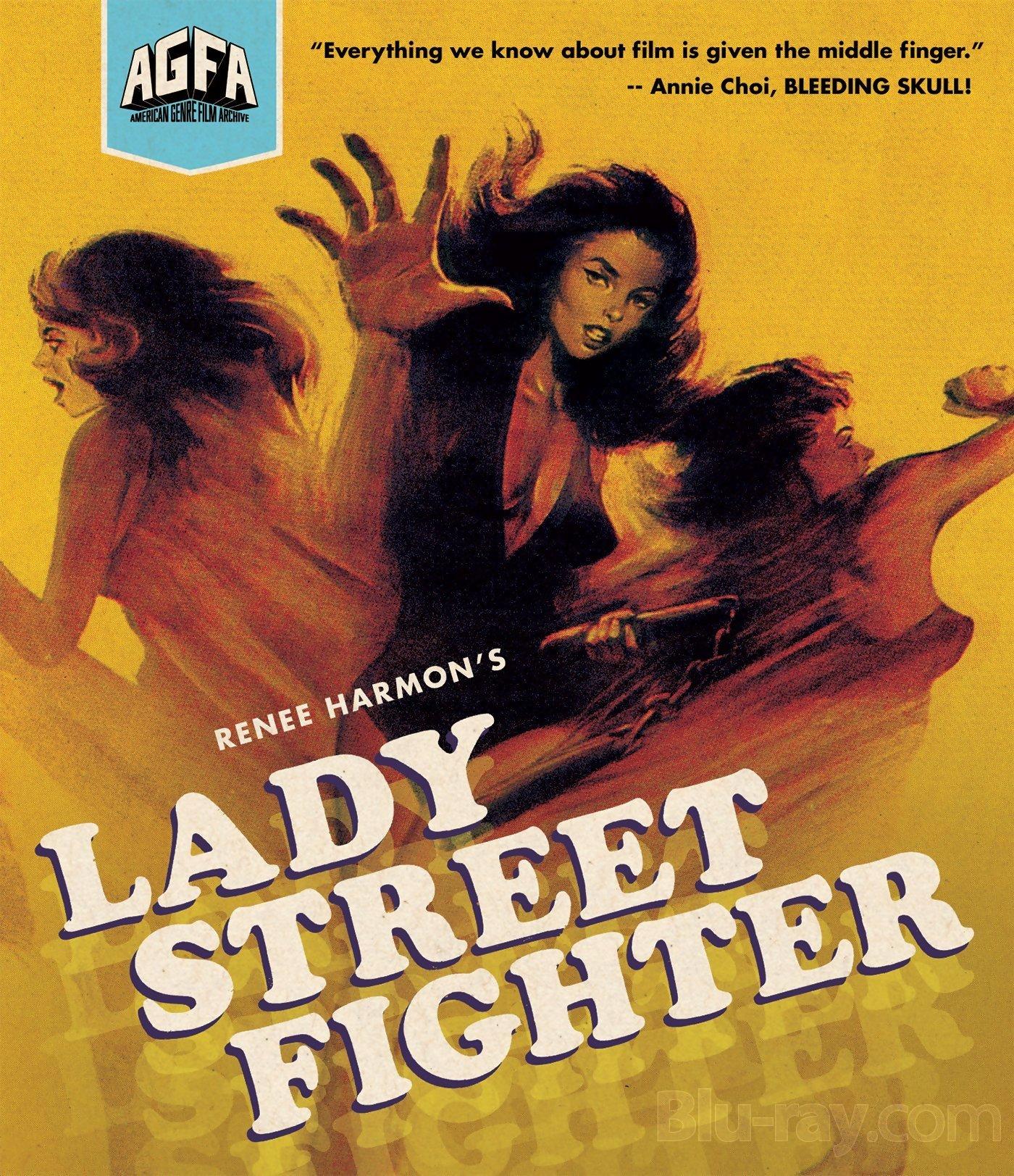 lady street fighter bluray