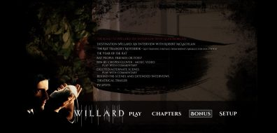 Willard Menu Bonus