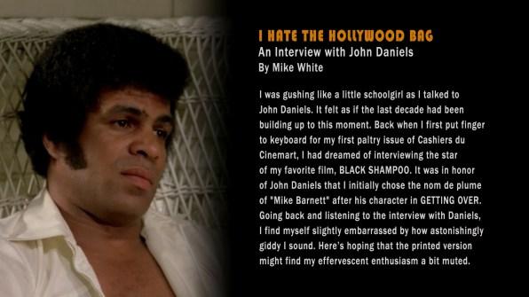 Black Shampoo John Daniels Text Interview