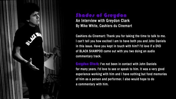 Black Shampoo Director Text Interview