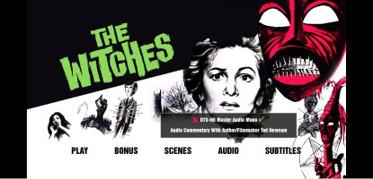 The Witches Audio Menu