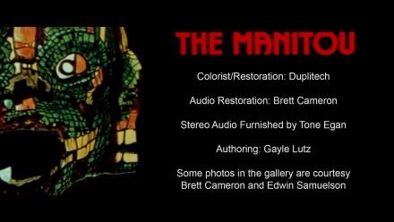 The Manitou Blu-ray Credits