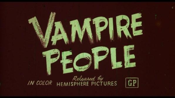 Vampire People trailer 2