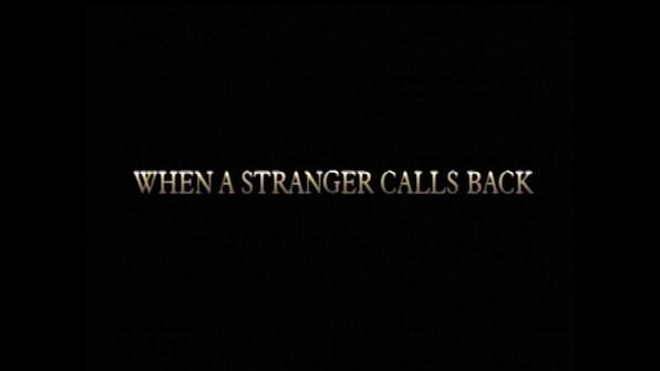 When a Stranger Calls Back TV spot 2