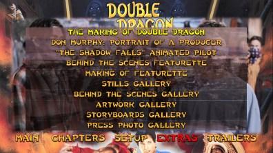 Double Dragon extras menu