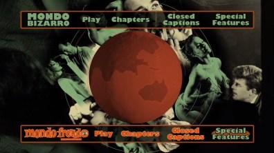 Mondo Bizarro/Freudo Blu-ray menu