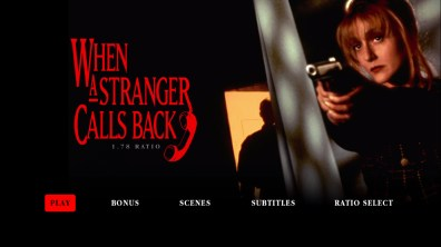 When a Stranger Calls Back 1.78:1 menu