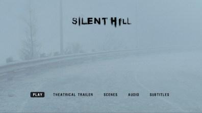 Silent Hill Blu-ray menu