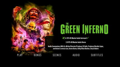The Green Inferno audio menu