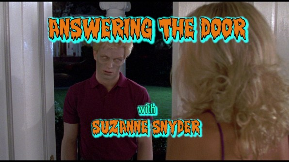 Night of the Creeps Suzanne Snyder interview 1