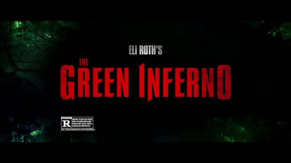 The Green Inferno TV spots 2